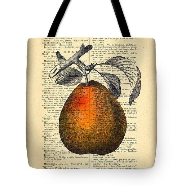 Pear Fruit Kitchen Decor Tote Bag