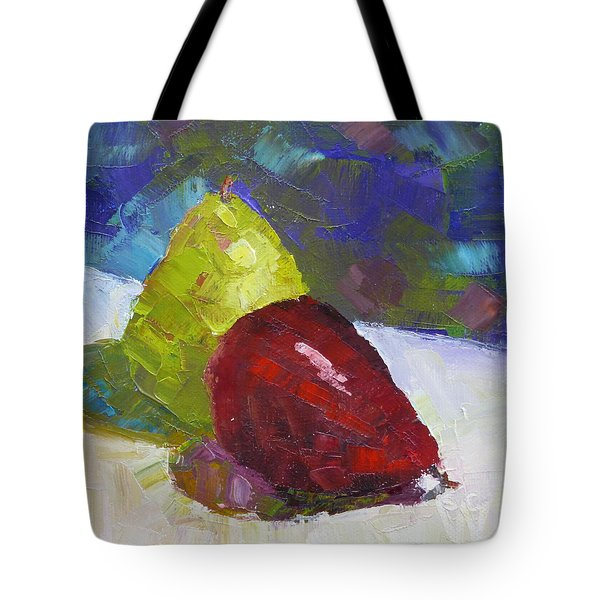 Pear Pair Tote Bag
