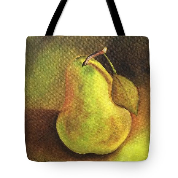 Pear Study  Tote Bag by Susan Dehlinger