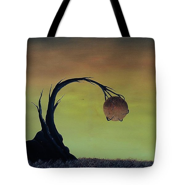 Tote Bag featuring the painting Pearl by Edwin Alverio