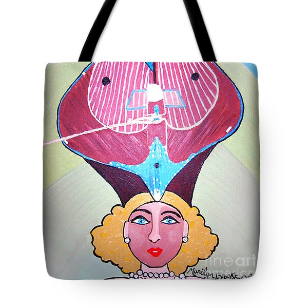 Pearl Of A Girl Tote Bag