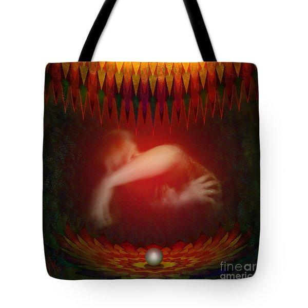 Pearl Of Love Tote Bag