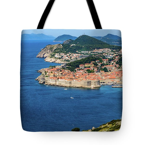Pearl Of The Adriatic, Dubrovnik, Known As Kings Landing In Game Of Thrones, Dubrovnik, Croatia Tote Bag