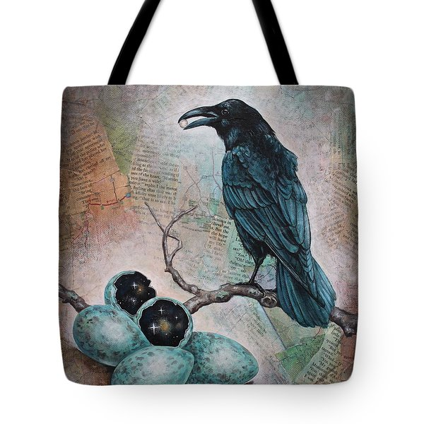 Pearl Of Wisdom Tote Bag by Sheri Howe