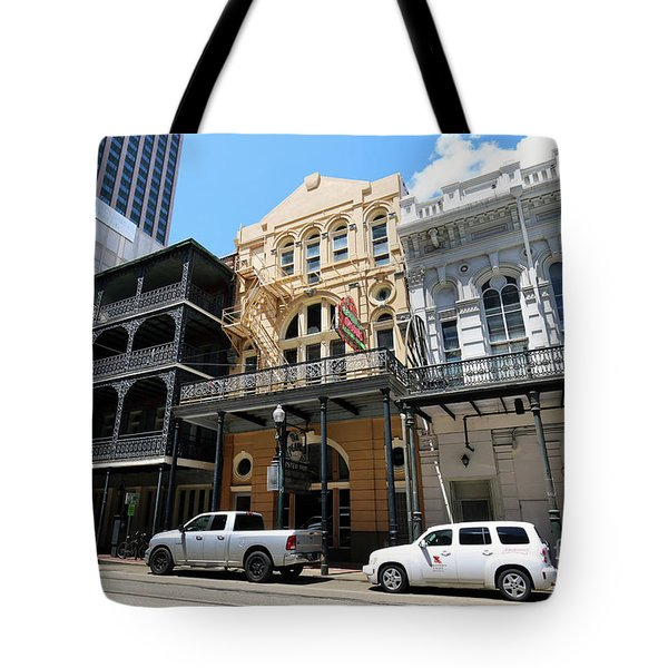 Tote Bag featuring the photograph Pearl Oyster Bar by Steven Spak