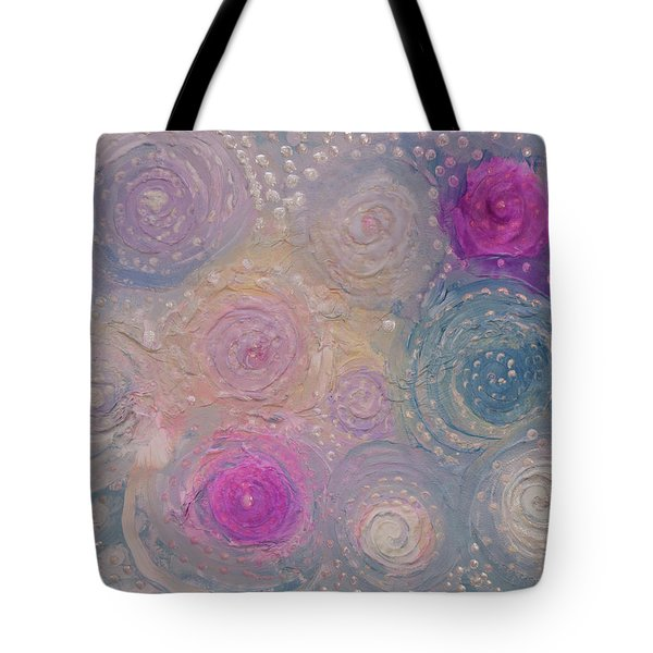 Pearlescent Painting Tote Bag