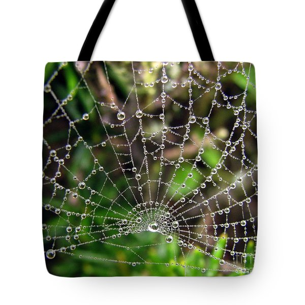 Pearls Tote Bag by Misha Bean