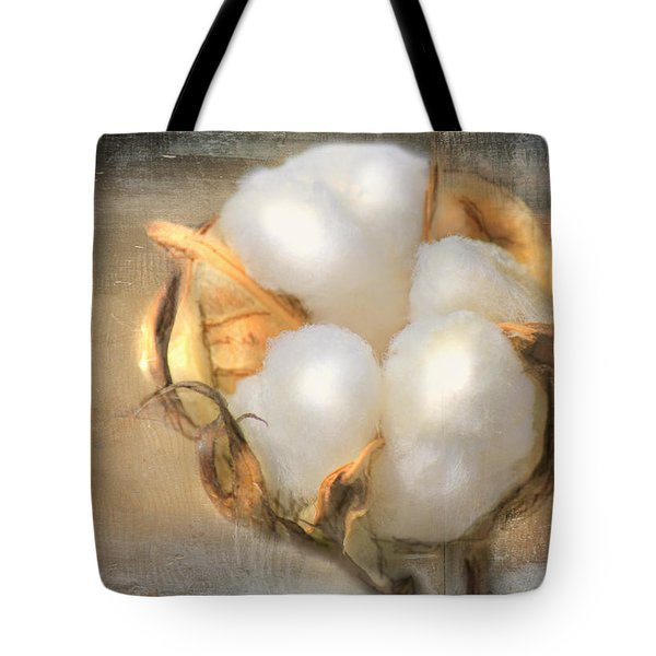 Pearly White Tote Bag