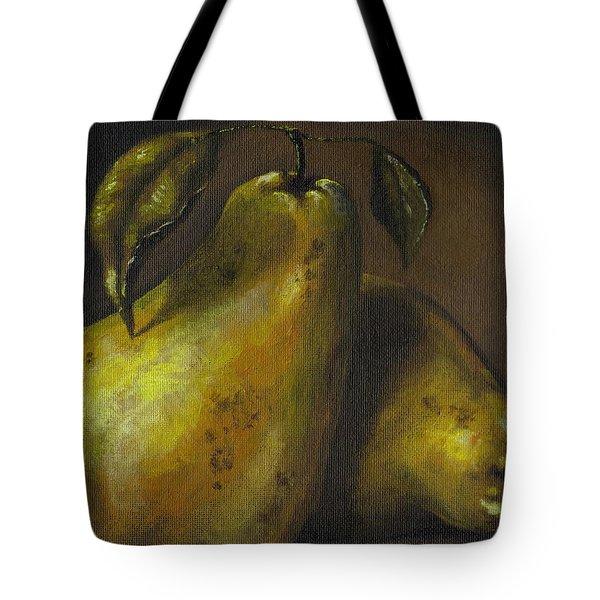 Pears Tote Bag by Adam Zebediah Joseph