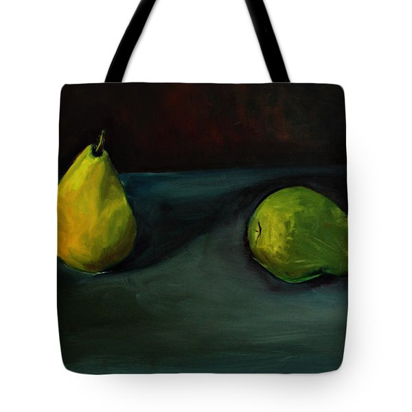 Pears Apart Tote Bag by Daun Soden-Greene