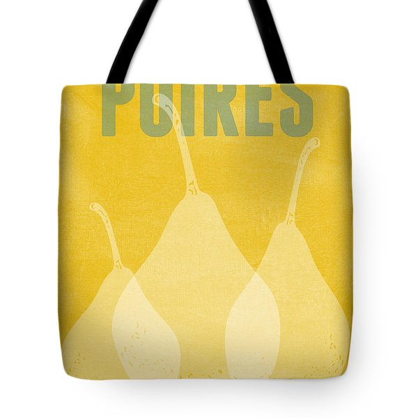 Pears- Art By Linda Woods Tote Bag