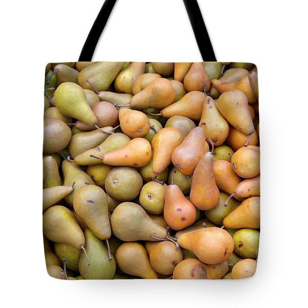 Pears At The Harvest Tote Bag