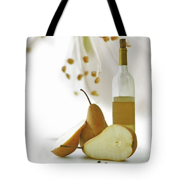 Pears Blossom Tote Bag