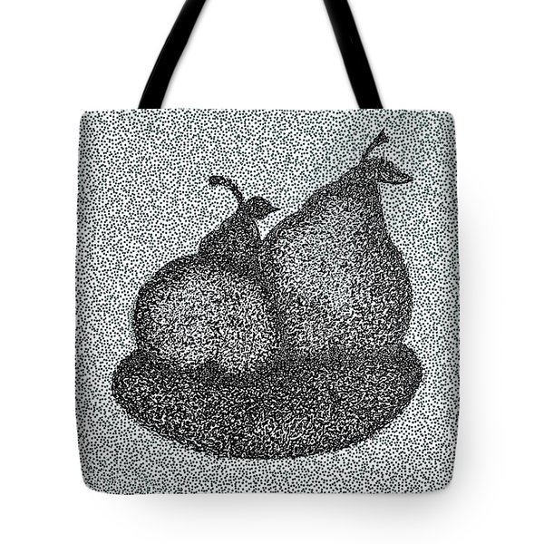 Pears In Pen And Ink  Tote Bag