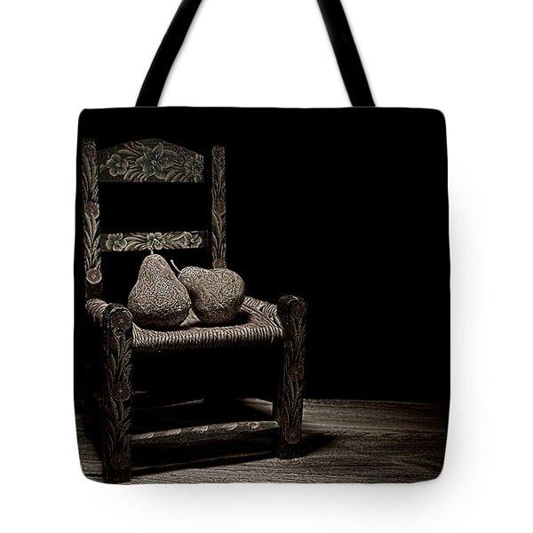 Pears On A Chair II Tote Bag