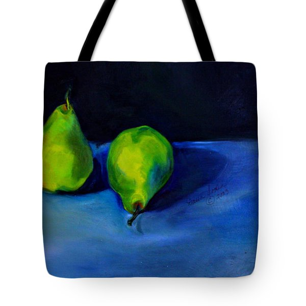 Pears Space Between Tote Bag by Daun Soden-Greene