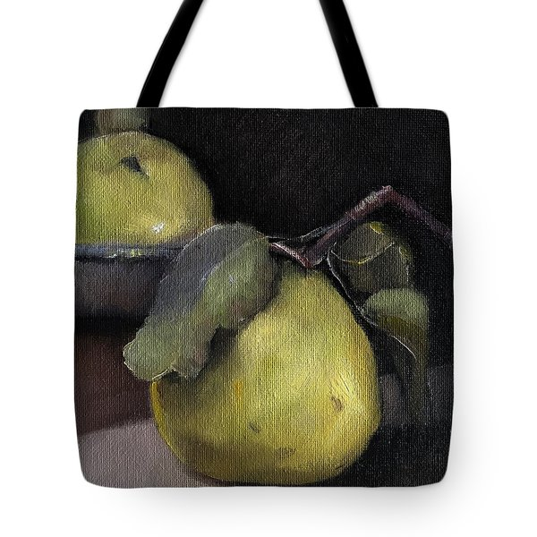Pears Stilllife Painting Tote Bag