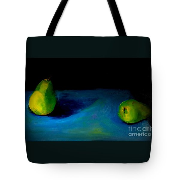 Pears Unpaired Tote Bag by Daun Soden-Greene