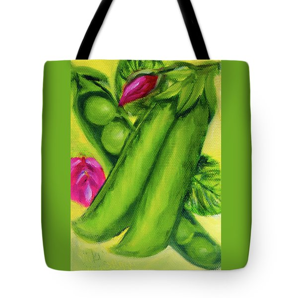 Peas In A Pod Tote Bag