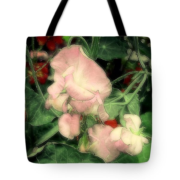 Peas Porridge Tote Bag by RC deWinter