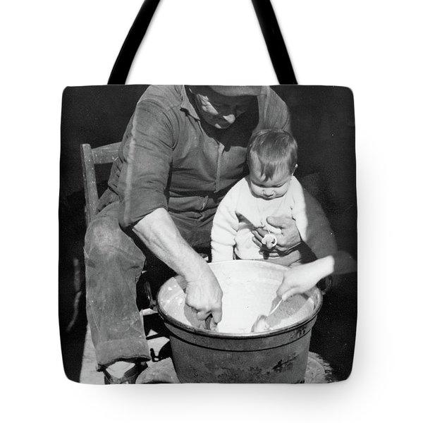 Peasant Life Tote Bag