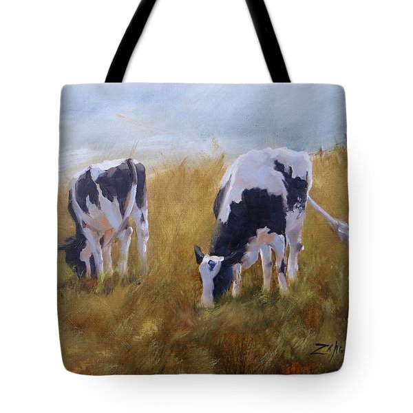 Tote Bag featuring the painting Peace On Earth Five by Laura Lee Zanghetti