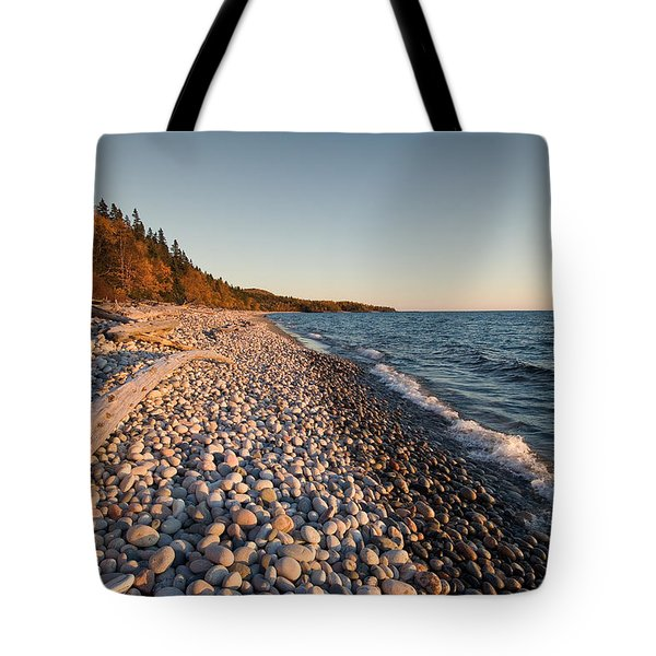 Pebble Beach Autumn    Tote Bag