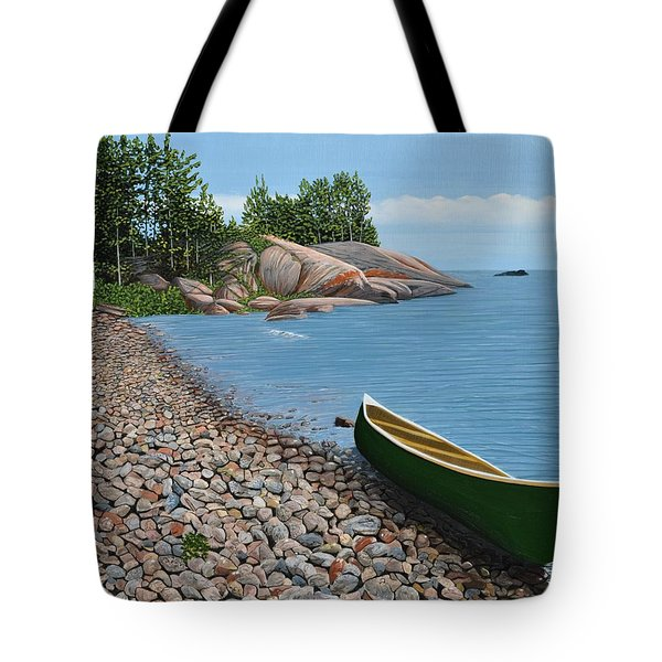 Pebble Beach Tote Bag