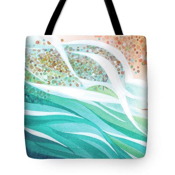 Pebble Dance Tote Bag