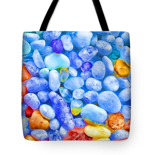 Pebble Delight Tote Bag