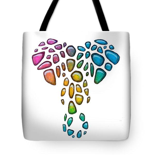 Pebble Elephant 1 Tote Bag
