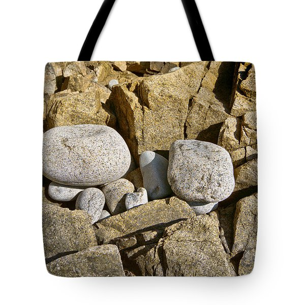 Pebble Pocket Photo Tote Bag