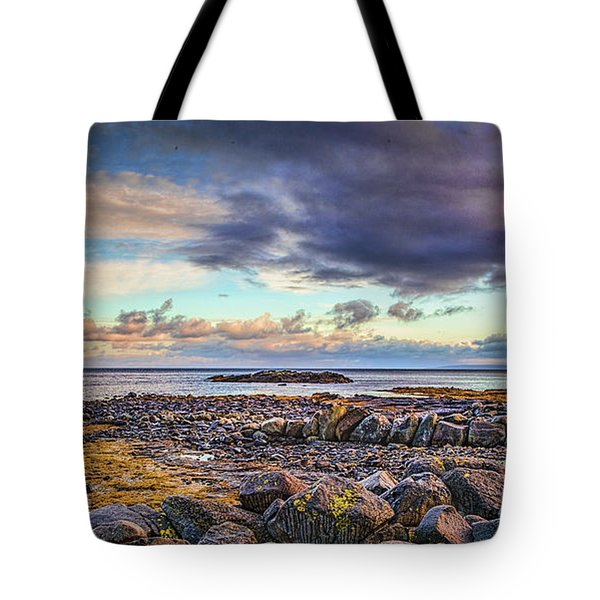 Pebbles And Sky  #h4 Tote Bag