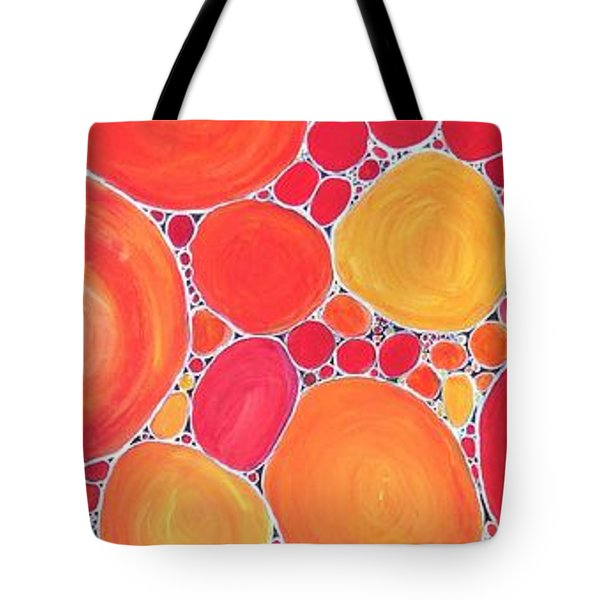 Pebbles At Sunset  Tote Bag