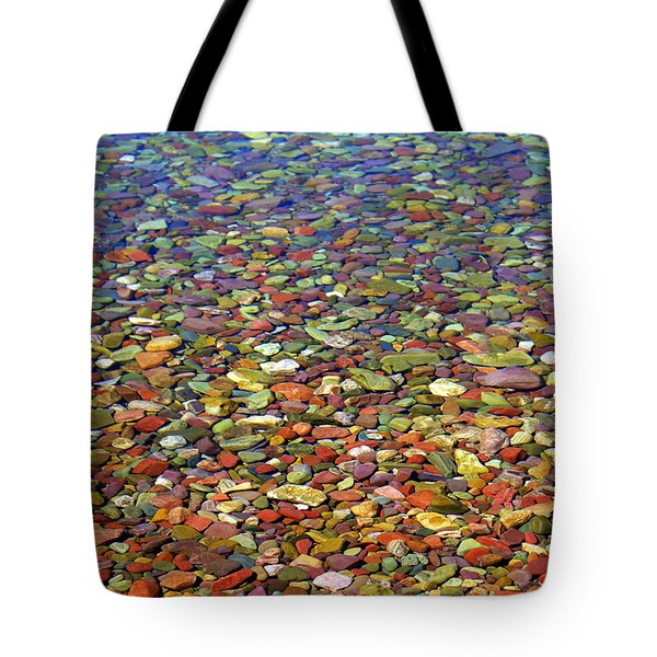 Pebbles Tote Bag by Marty Koch