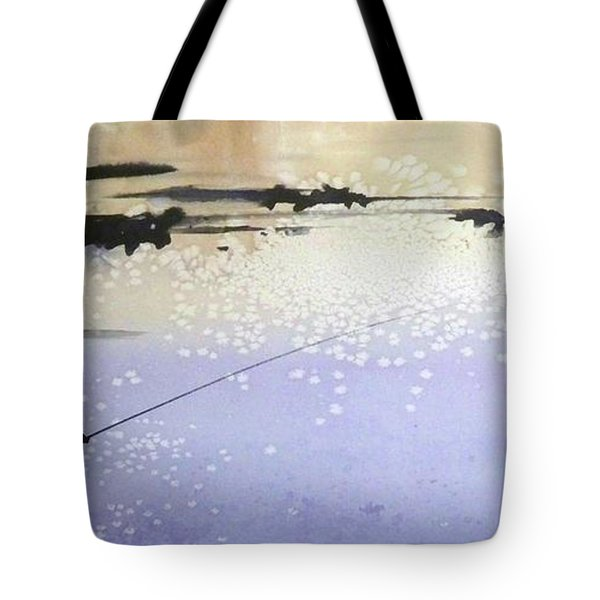 Peche Tote Bag by Ed Heaton