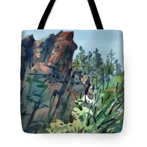 Pecos Canyon Tote Bag by Donald Maier