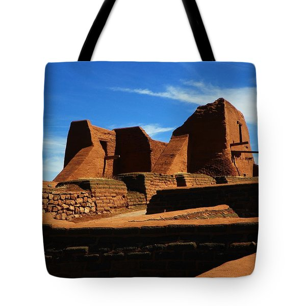 Tote Bag featuring the photograph Pecos New Mexico by Joseph Frank Baraba
