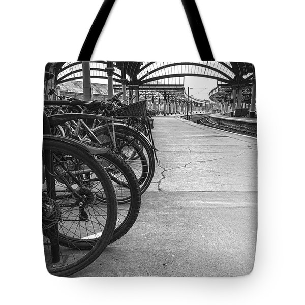 Pedal Power Park Tote Bag by David  Hollingworth