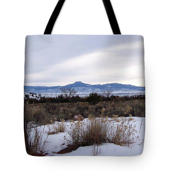 Pedernal Mountain Tote Bag