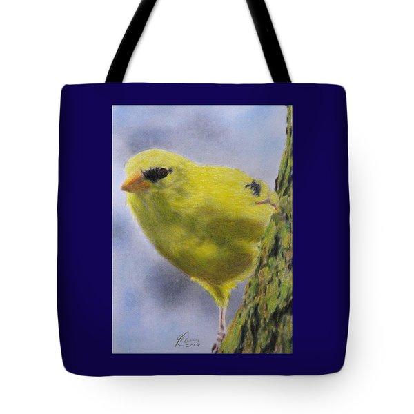 Peek A Boo Tote Bag by Angela Davies