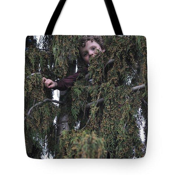 Peek A Boo Tote Bag