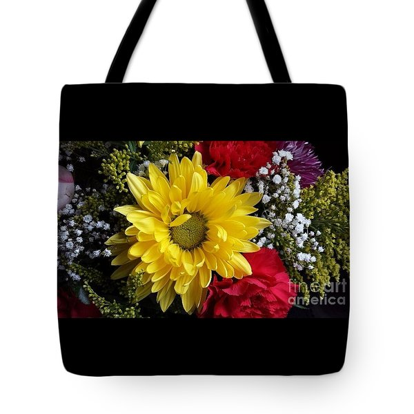 Peek A Boo Sunshine Tote Bag by Becky Lupe