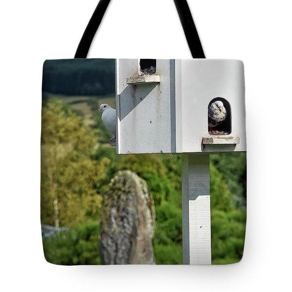 Peek-a-doo Tote Bag