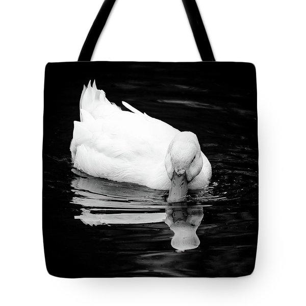 Peek-ing Duck Tote Bag