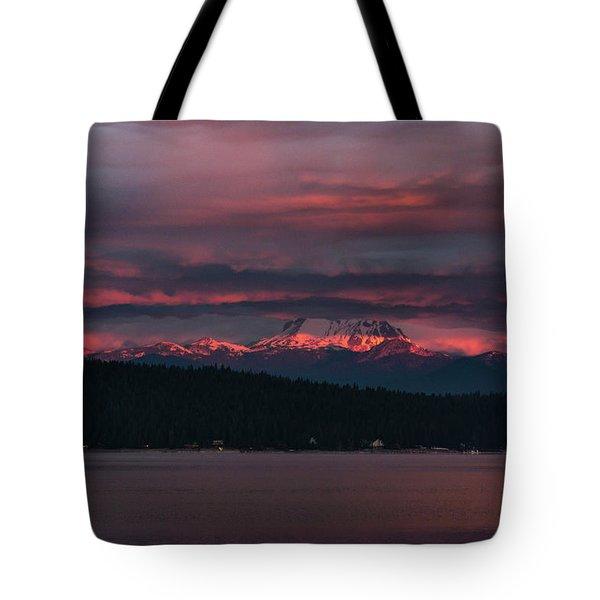 Peekaboo Sunrise Tote Bag