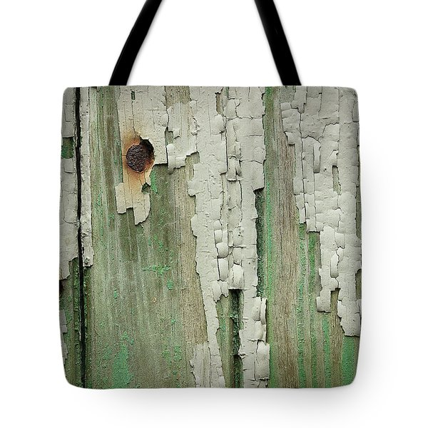 Tote Bag featuring the photograph Peeling 3 by Mike Eingle