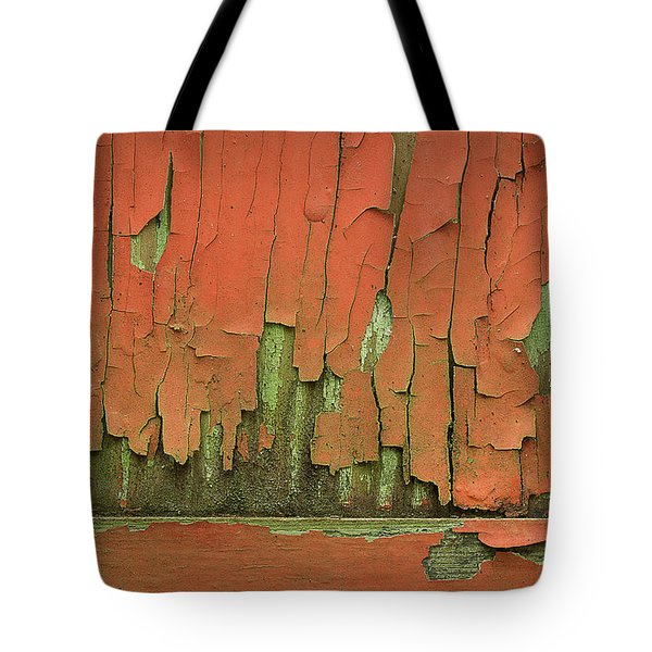 Tote Bag featuring the photograph Peeling 4 by Mike Eingle