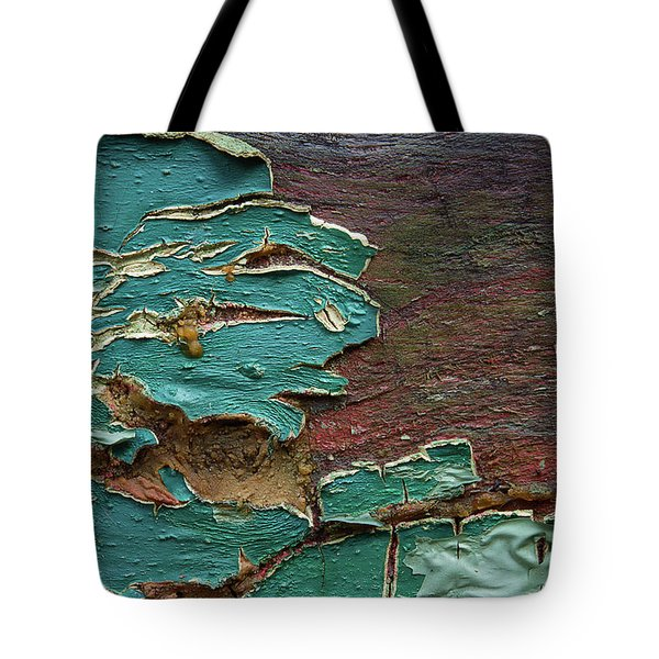 Tote Bag featuring the photograph Peeling by Mike Eingle