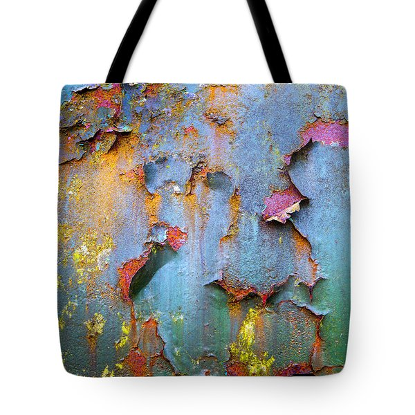 Peeling Paint And Rust Textures 135 Tote Bag